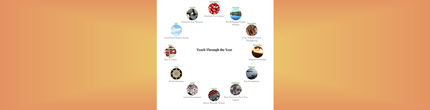 Teach Through the Year calendar